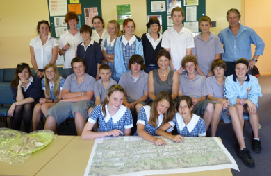 Consultation with Narrabri High School Youth on CBD Masterplan